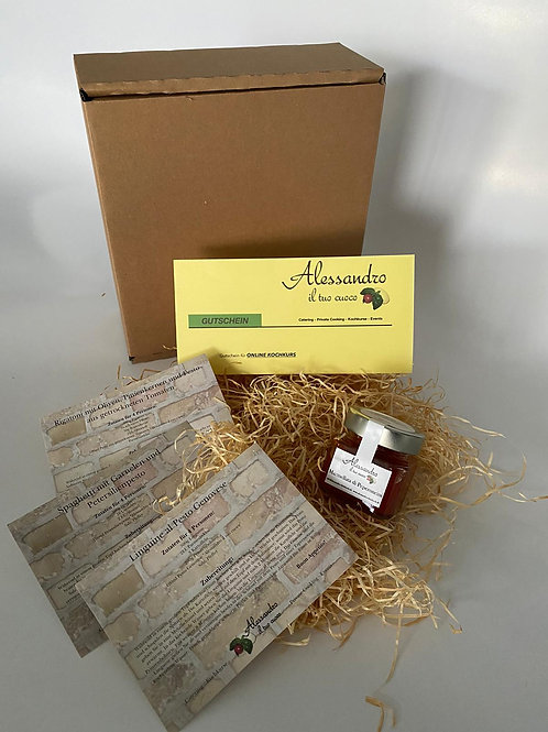 Geschenkbox: Gutschein im Wert von 35 Euro & gratis Geschenk