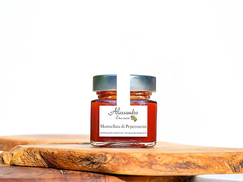 Marmellata di Peperoncini  - Chili-Pfeffer-Marmelade