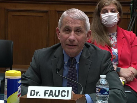 White House Smears Dr. Fauci