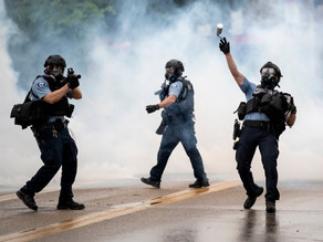Cop Protesters Get Gassed, Right-Wingers See Restraint