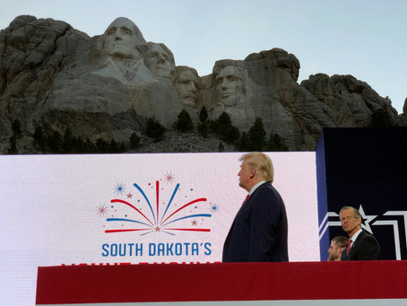 Mount Rushmore Hosts New Rally