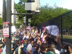 Demonstrations Grow in D.C.