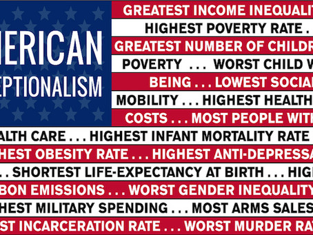 American Exceptionalism is a Lie