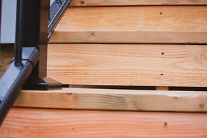 Custom deck and porch stairs