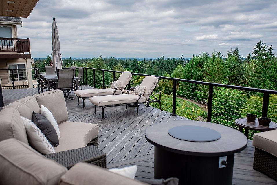 Plantrak Decks composite decking washington state