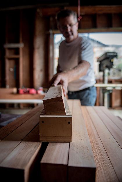 Plantrak Decks master carpenter wood shop Kent WA