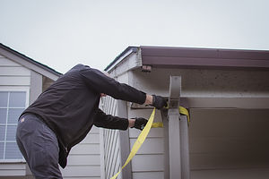 Structural repair and fixing a post