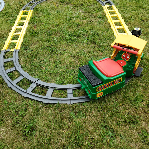 Red & Green Peg Perego Train