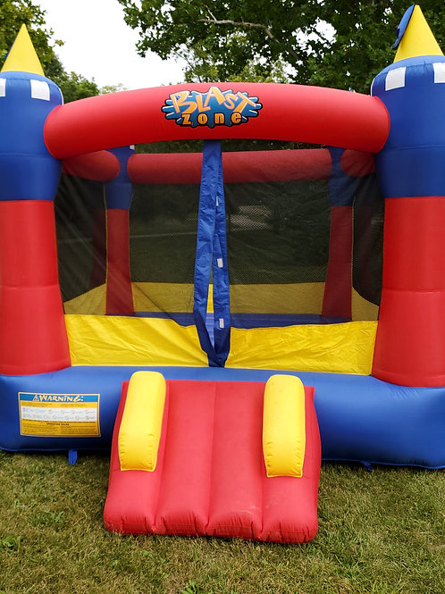 Blue & Red Blast Zone Bounce House