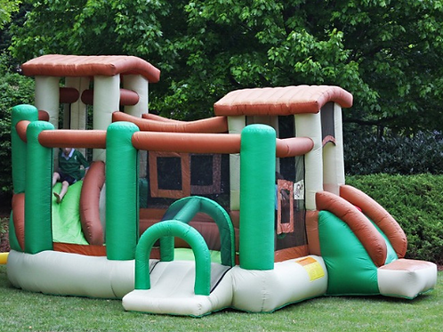 Kidwise Jungle Obstacle Bounce House