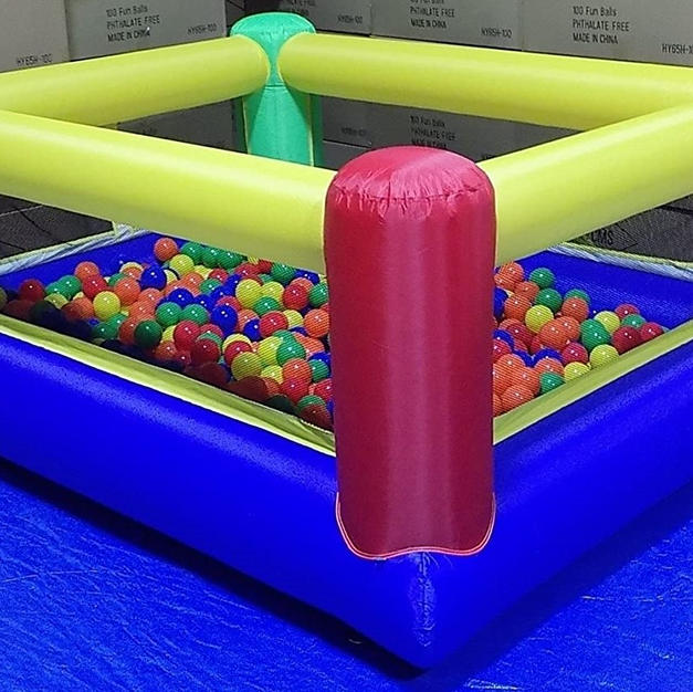 Rectangle Inflatable Ball PIt