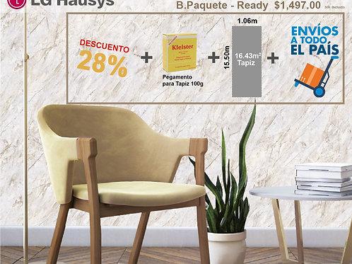 PAQUETE READY 83102-2 (16.43 M2 + PEGAMENTO + ENVÍO GRATIS)