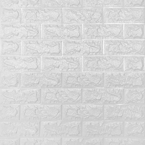 PANEL PU 3D (SOFT) BLANCO (1 pza)