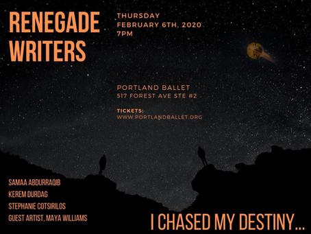 Renegade Writers at Portland Ballet
