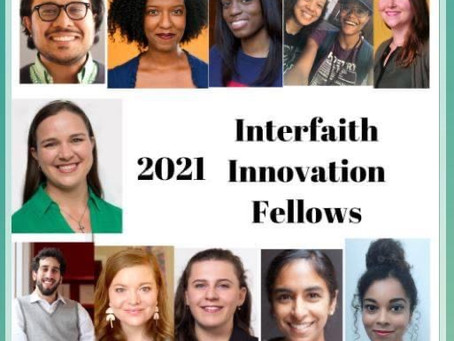 Our Podcast Dying/Laughing is Part of IFYC's Interfaith Innovation Fellows 2021