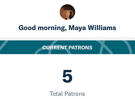 Become a Patron Today!