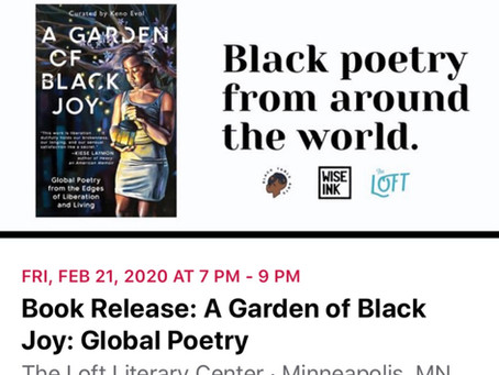A Garden of Black Joy Release and Reading