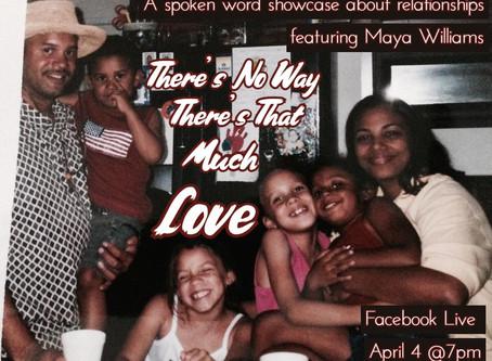 Facebook Live Spoken Word Reading