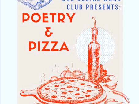 Poetry & Pizza at UNE!