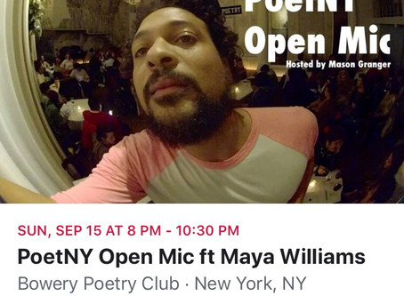Feature at Bowery Poetry Club