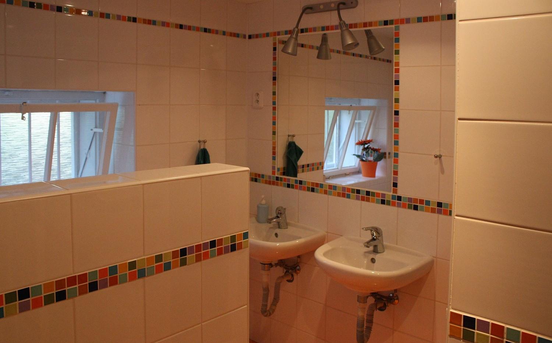 Chalupa Radějov koupelna