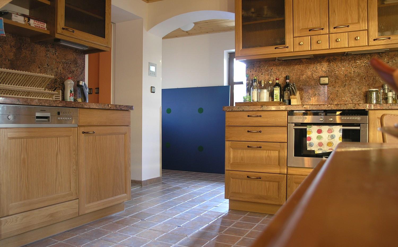 Horní chalupa Bystřice kuchyně