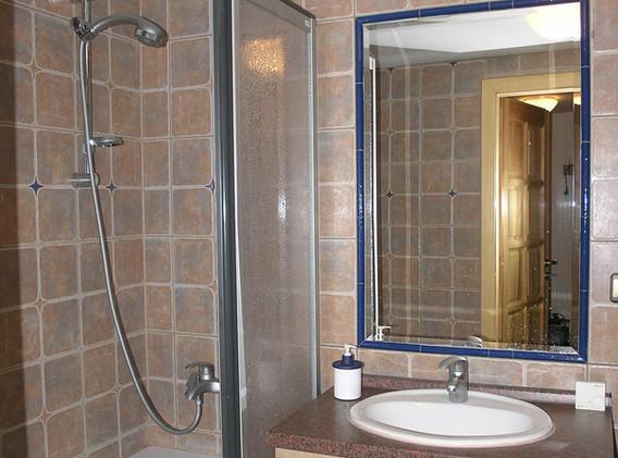 Horní chalupa Bystřice koupelna