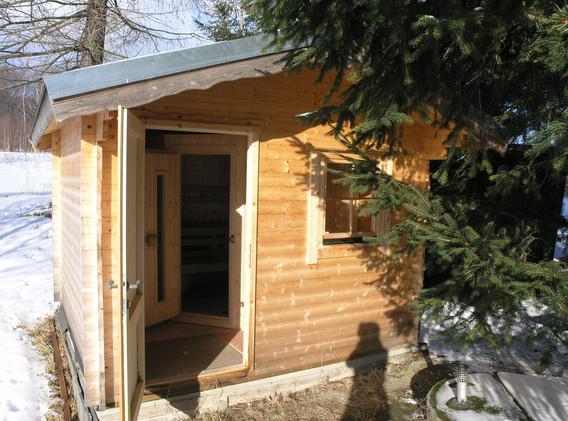 Chalupa Jeseníky sauna