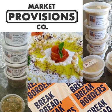 BBBB at Market Provisions w hummus and b