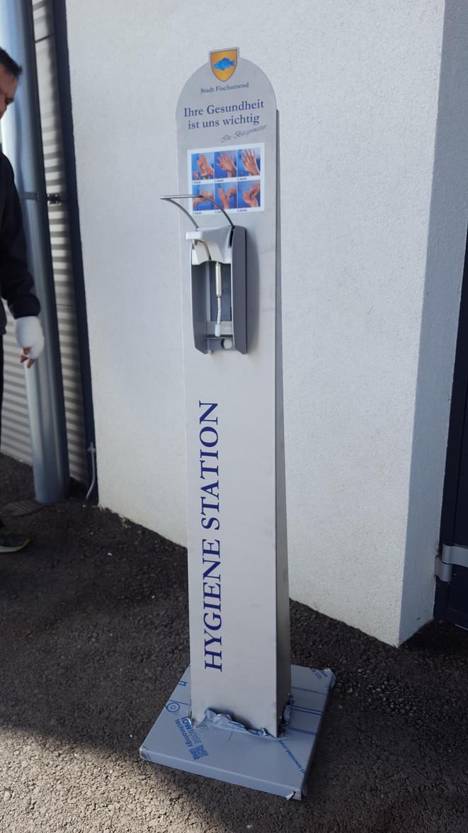 Niro- Hygiene Station
