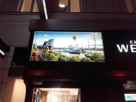 LED-Leuchtschild mit Digitaldruck