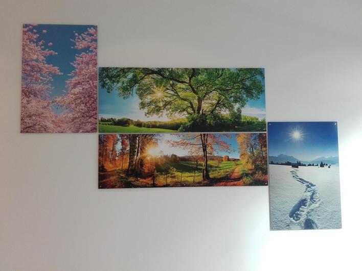 Plexiglasschilder