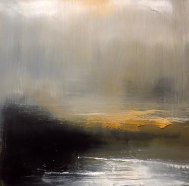 Fog Drifts In, 2019, Oil on canvas, 60 x 60cm