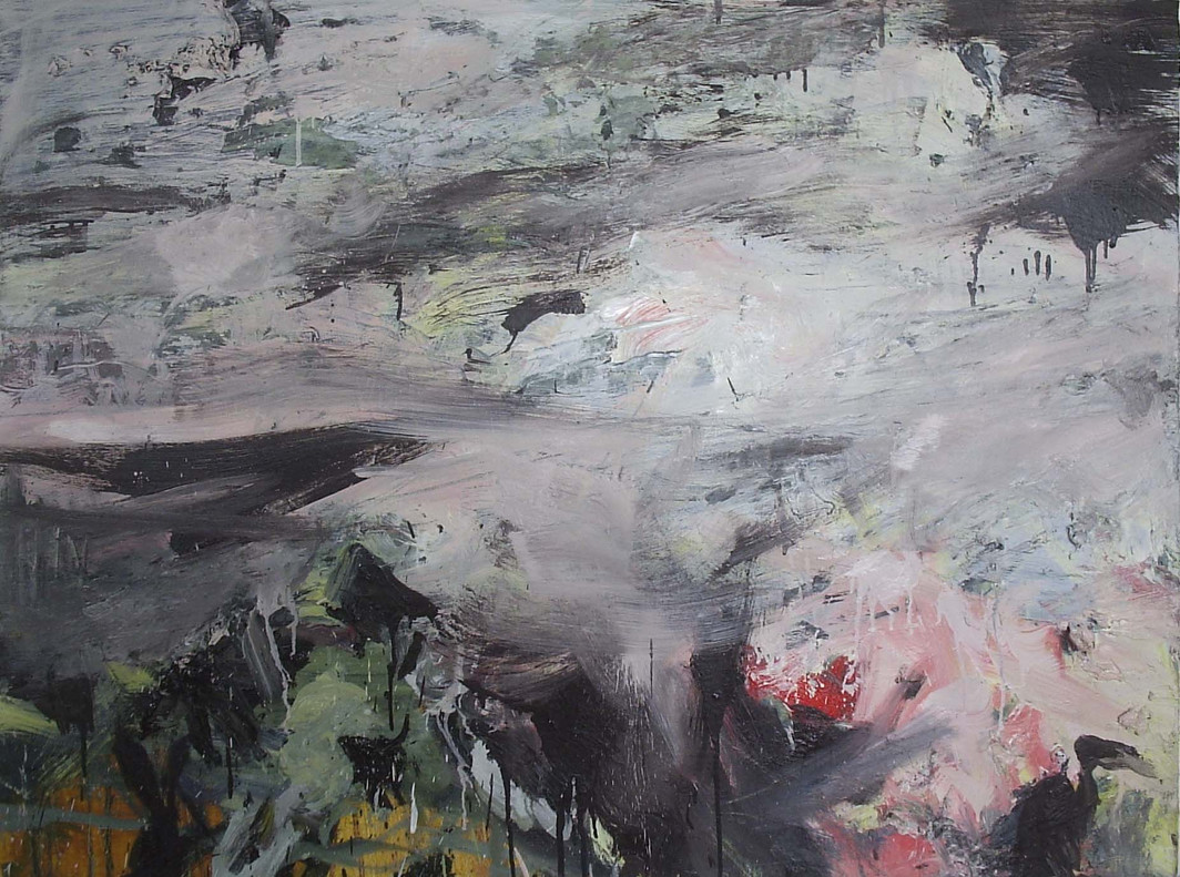 Untitled, 2008, Oil on canvas, 94 x 124cm
