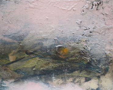 Light Beneath, 2020, Oil on canvas, 40 x 50cm