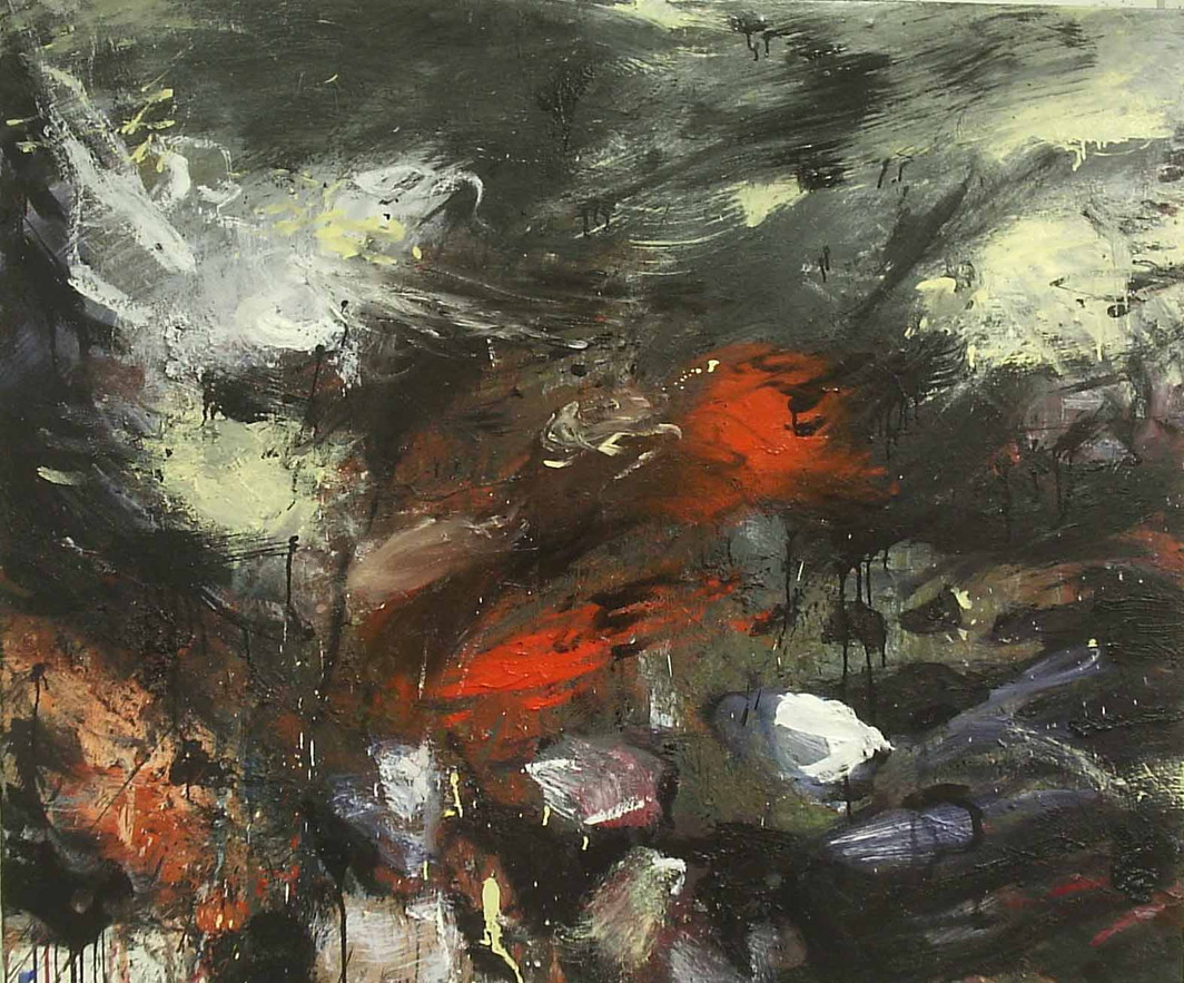 Untitled, 2008, Oil on canvas, 100 x 120cm