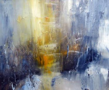 Vision Will Awake, 2020, Oil on canvas, 100 x 120cm