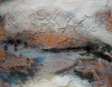 Dimmed Light, 2020, Oil on canvas board, 36 x 26cm