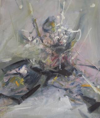 Of the Crocus, 2018, Oil on canvas, 70 x 59cm