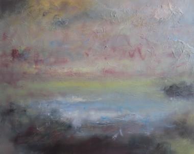 Morning Mist, 2018, Oil on canvas, 90 x 110cm