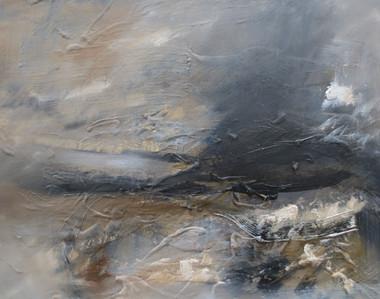 The Sea, We'll Begin, 2018, Oil on canvas, 40 x 50cm