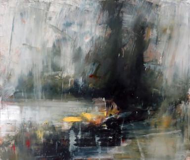 That Dim Lake, 2019, Oil on canvas, 102 x 120cm
