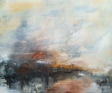 Certain Gentleness, 2018, Oil on canvas, 100 x 120cm