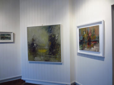 At the Edge of the Shadow, 2020, Duke Street Gallery