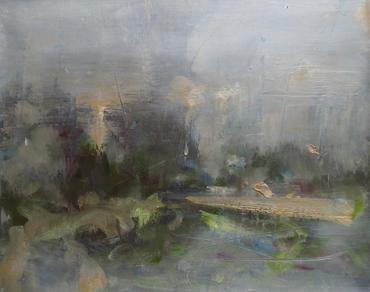 A Cold Tune, 2020, Oil on canvas, 40 x 50cm