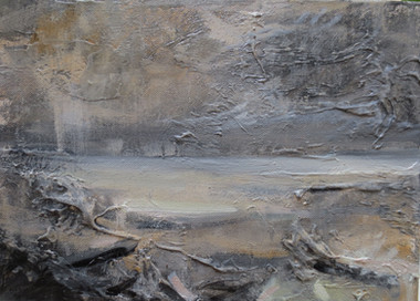 Still Waiting, 2018, Oil on canvas, 25 x 30cm
