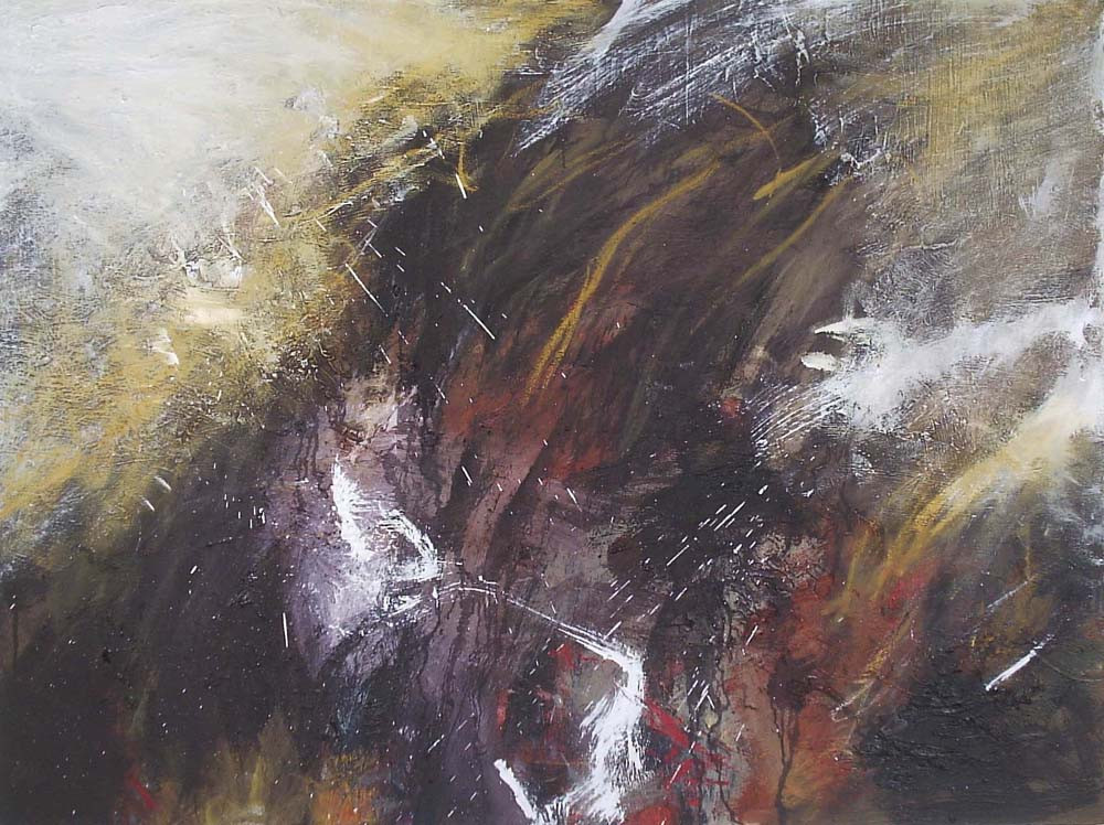 Untitled, 2007,  Oil on canvas, 102 x 120cm