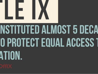 The DOE Just Released Proposed Title IX Rules: What All Students Should Know