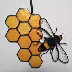 Honeycomb Bee diningroom photo