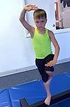 American karate studios boy tumbler